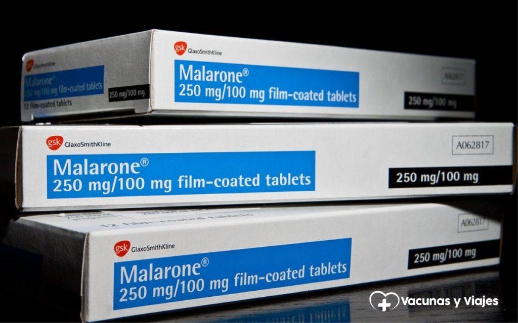 Malarone® (atovaquona/proguanil)